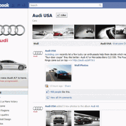 facebook fan page template